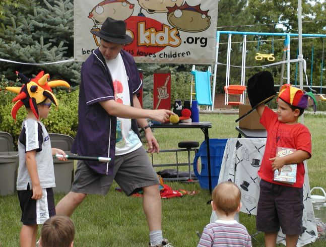 what happened at a backyard bible blast